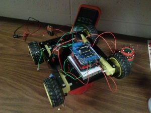 Remotely operated search bot