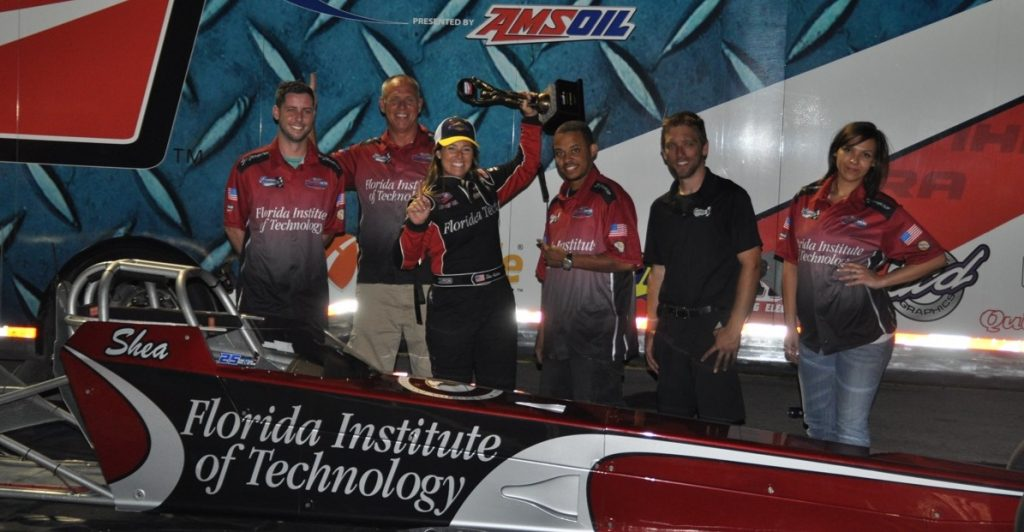 The winning team: From left, Ryan Sadlier, Jeff Holbrook, Shea Holbrook, Dewayne Hill, Brian Tocci and Ashley Jones.
